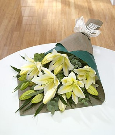Simply White Lilies