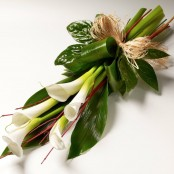 Calla Lily Tied Sheaf