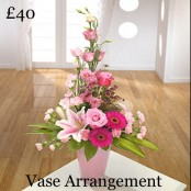 Front Facing Vase Arrangement