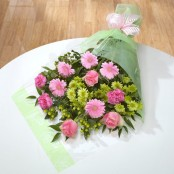 Pink & Green Cello Wrap